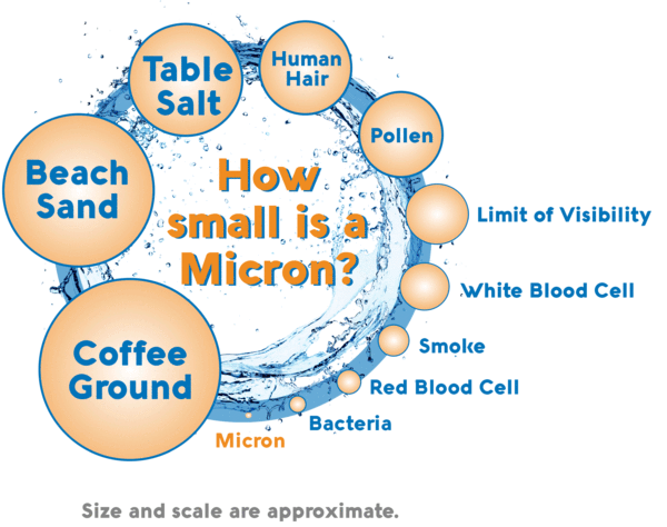 ¿Qué tan pequeño es un micrón?