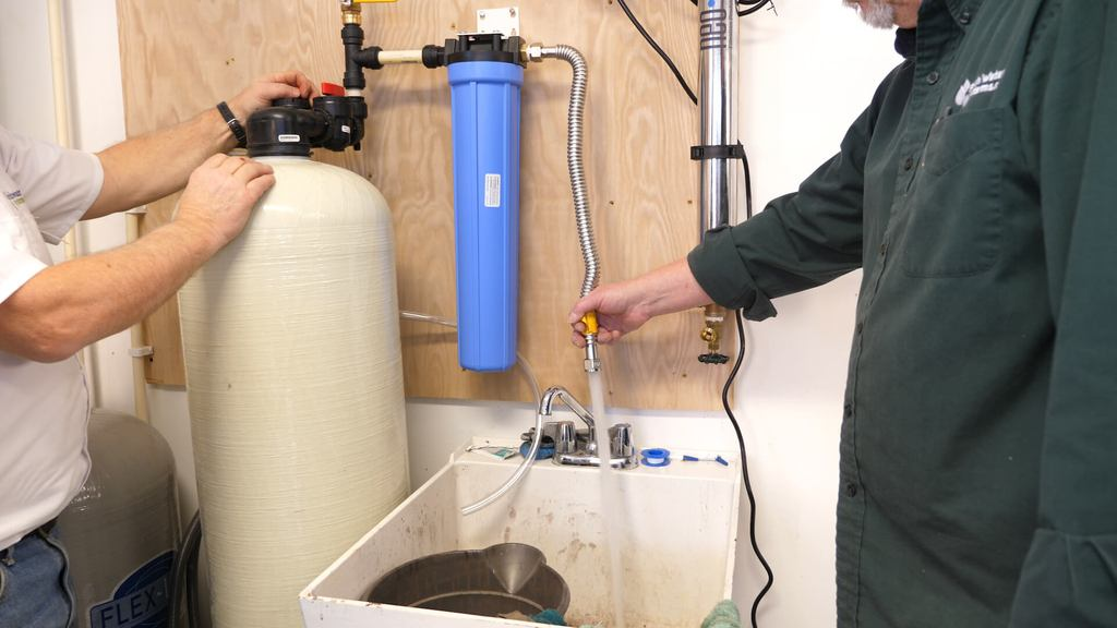 filtro de agua de lavado