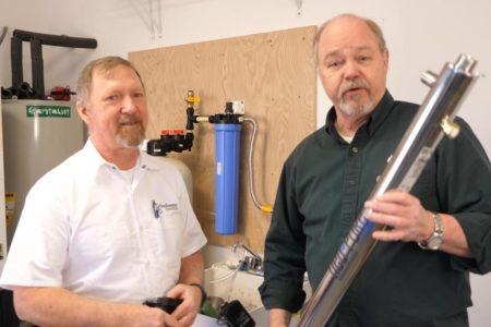 Cómo instalar un filtro de agua para toda la casa para agua de pozo: sistemas de osmosis inversa y purificación de agua.