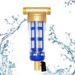¿Qué es un pre filtro giratorio y cómo filtra el agua?
